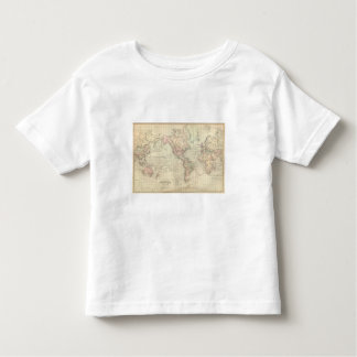 World on Mercator's Projection Toddler T-Shirt