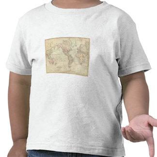 World on Mercator's Projection T Shirt