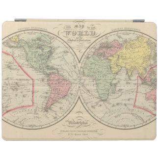 World on the Globular Projection iPad Cover