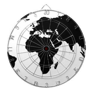 World Outline Dartboard