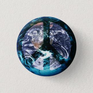 World Peace 3 Cm Round Badge