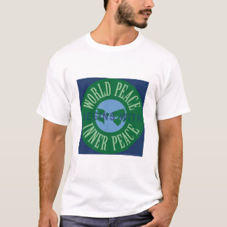 World Peace Begins With Inner Peace Apparel T-Shirt