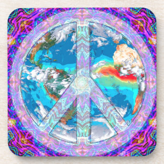 World Peace Beverage Coaster