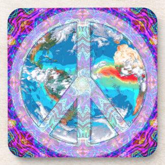 World Peace Beverage Coaster