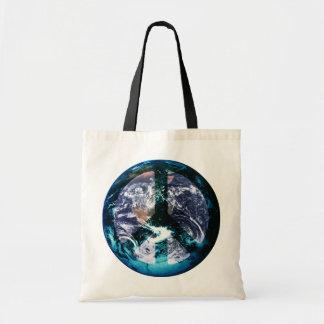 World Peace Budget Tote Bag
