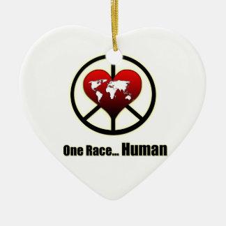 World Peace Christmas Ornament