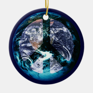 World Peace Christmas Ornament