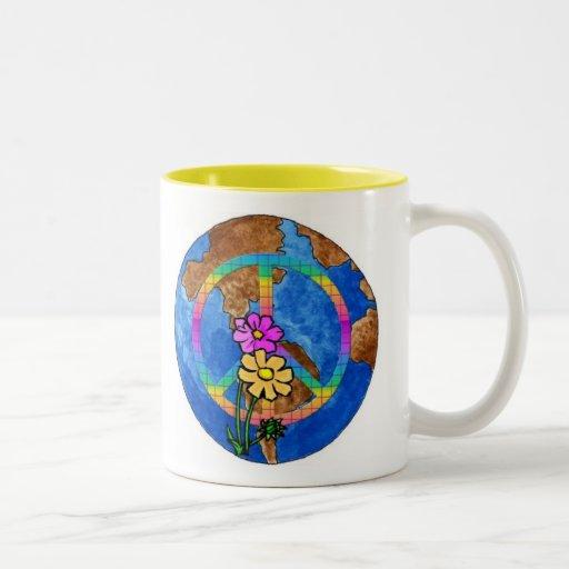 World Peace Colors Mugs