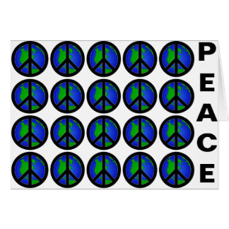 World Peace Greeting Card