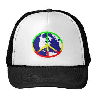 World Peace Mesh Hat