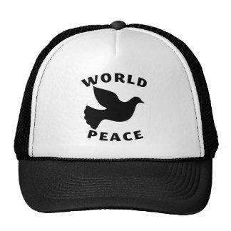 World Peace Mesh Hats