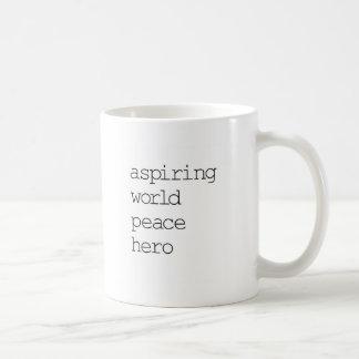 World Peace Hero Mugs
