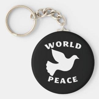 World Peace Key Ring