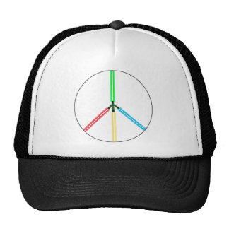 World Peace Laser Swords Hats
