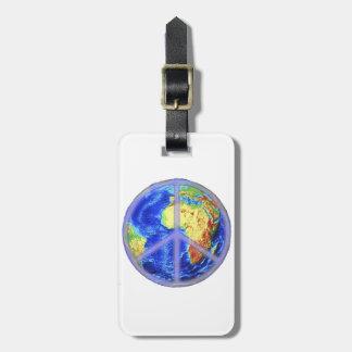 World Peace Luggage Tag