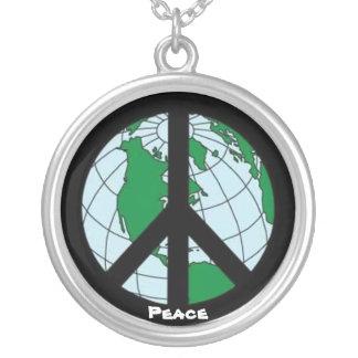 """World Peace"" Pendant"