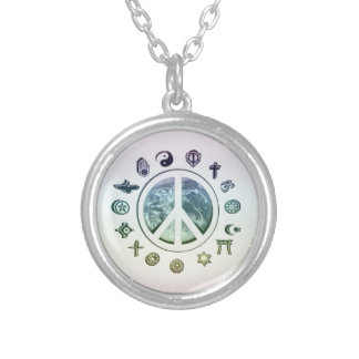 World Peace Personalized Necklace