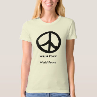 World Peace - Organic T-Shirt