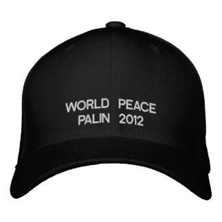 WORLD PEACE PALIN 2012 BASEBALL CAP