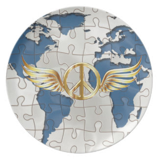 World peace plate
