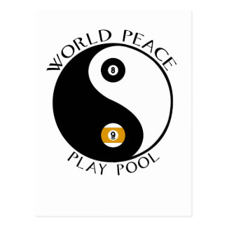 World Peace postcard