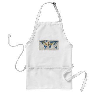 World peace standard apron