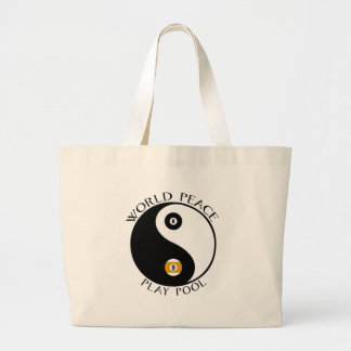 World Peace tote Bags