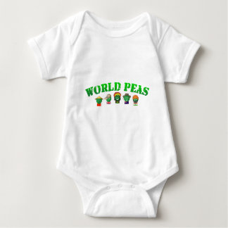 World Peas Baby Bodysuit
