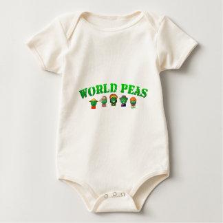 World Peas Baby Bodysuit