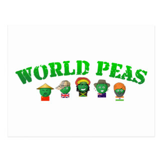 World Peas Postcard