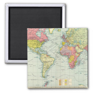 World political Map Magnet