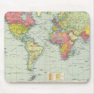 World political Map Mouse Mat