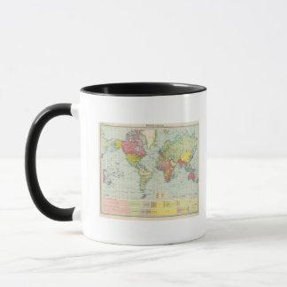 World political Map Mug