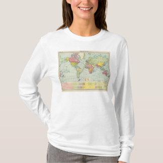 World political Map T-Shirt