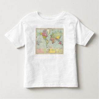 World political Map Toddler T-Shirt