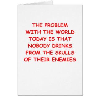 world problems card