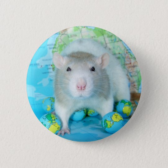 World Rat Day pin
