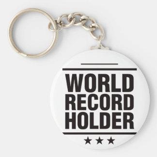 World Record Holder! Keychain