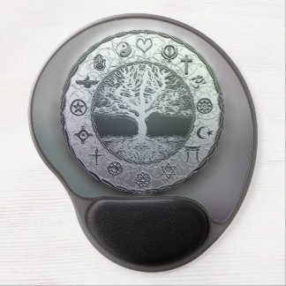 World Religions Tree of Life Gel Mouse Mat