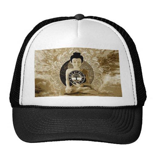World Religions Tree of Life Meditation Mesh Hat