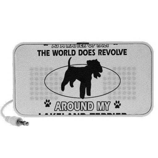 World revolves around my lakeland terrier laptop speakers