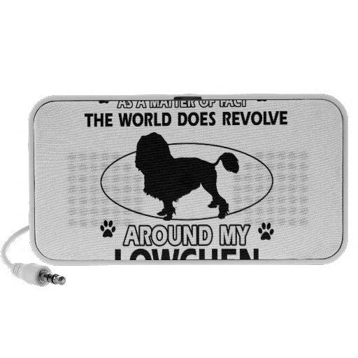 World revolves around my lowchen travel speaker