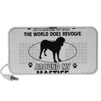 World revolves around my Mastiff iPod Speaker