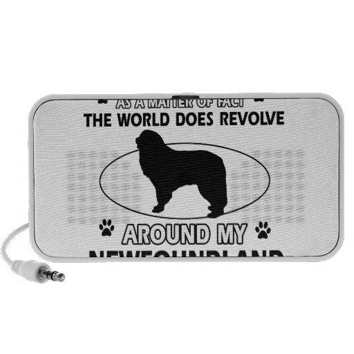 World revolves around my nowfoundland iPhone speakers