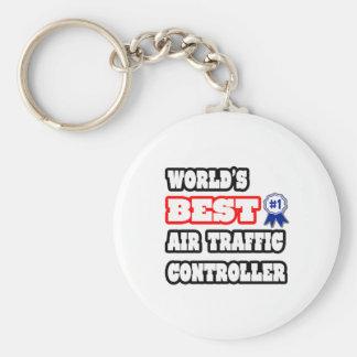 World s Best Air Traffic Controller Key Chains