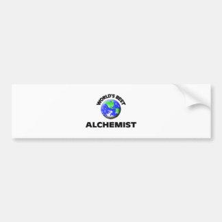 World s Best Alchemist Bumper Stickers