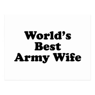 World s Best Army Wife Post Cards