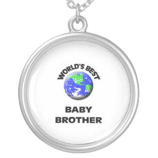 World s Best Baby Brother Custom Jewelry