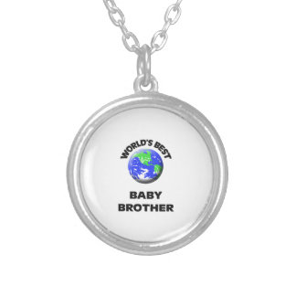 World s Best Baby Brother Necklace