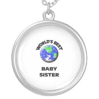 World s Best Baby Sister Pendant